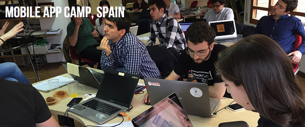 Mobile App Camp in Spain