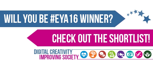 Did you make it? #EYA16's first shortlist out NOW!