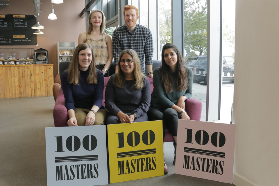 Interview with Liam Smyth from 100 Masters, EYA winning project 2018